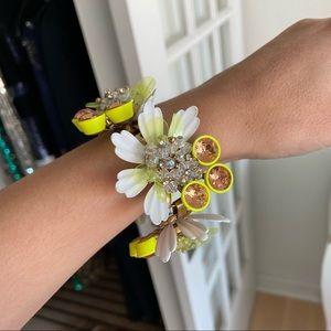 J Crew Flower Bracelet